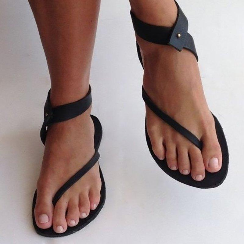 Flip Flops Ankle Wrap Sandals