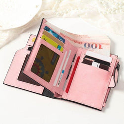 Candy Color Card Holder Wallet Purse