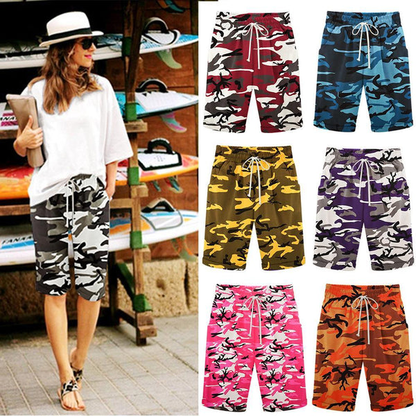 Summer New Camouflage Printed Pants