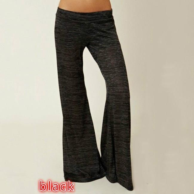 Women Loose Cotton Pants Simple Soft Long Trousers