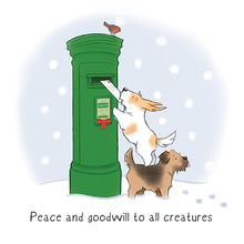 Load image into Gallery viewer, Cork DAWG Watson's Christmas Cards