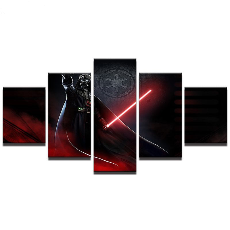 """Star Wars Darth Vader HD Canvas Print 16/""""x22/"""" Home Decor Paintings Wall Picture"""
