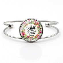 Load image into Gallery viewer, Christian Bible Verse Bangle Bracelets - You-Inspire.Us