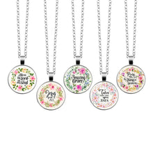 Load image into Gallery viewer, Christian Necklaces with Bible Scriptures for Women - You-Inspire.Us
