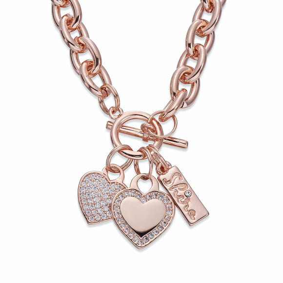 Rose Gold Charm Necklace | ${Vendor}