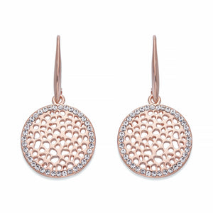 Organic Style Rose Gold Earrings | ${Vendor}