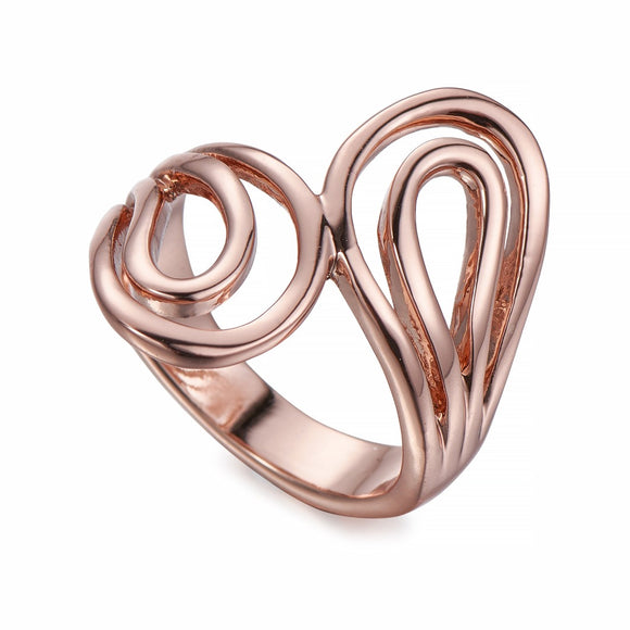 Polished Rose Gold Ring | ${Vendor}
