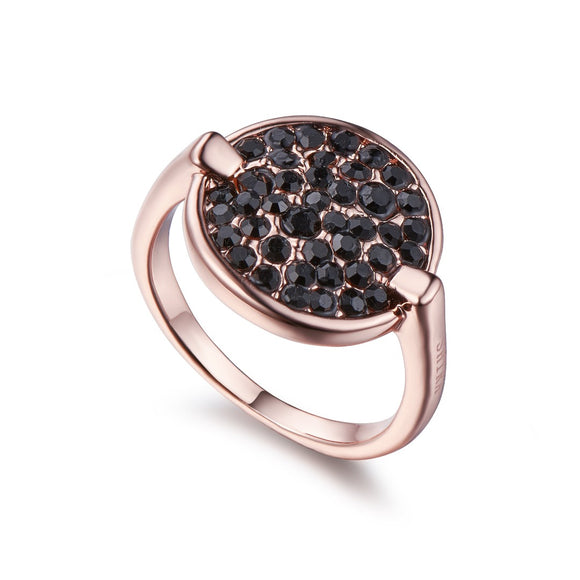 Black on Rose Gold Ring | ${Vendor}