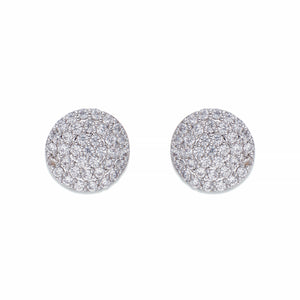 Crystal Encrusted Stud Earrings | ${Vendor}