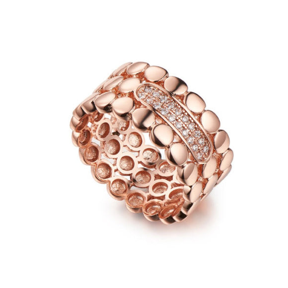 ROSE GOLD RING\SHIRA JEWELLERY