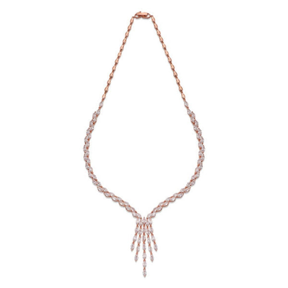 ROSE GOLD NECKLACE\SHIRA JEWELLERY