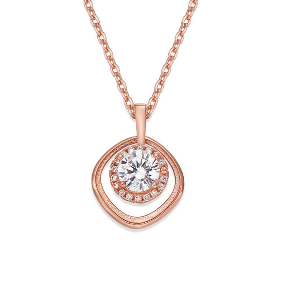 ROSE GOLD PENDANT NECKLACE | ${Vendor}
