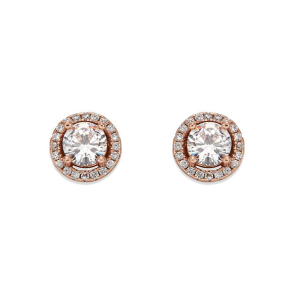 ROSE GOLD STUD EARRING | ${Vendor}