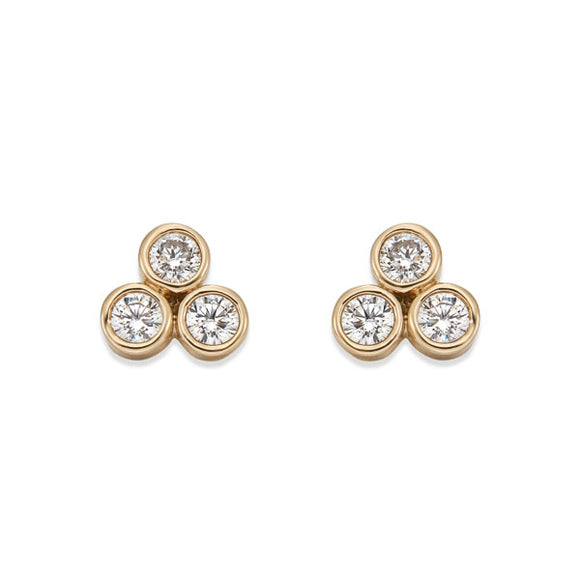 GOLD STUD EARRINGS | ${Vendor}