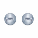 Medium Pearl Stud Earrings | ${Vendor}