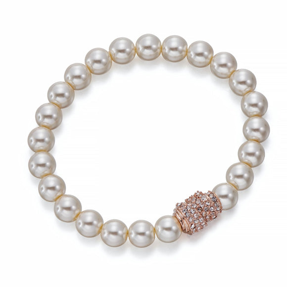 Pearls and Rose Gold Bracelet | ${Vendor}