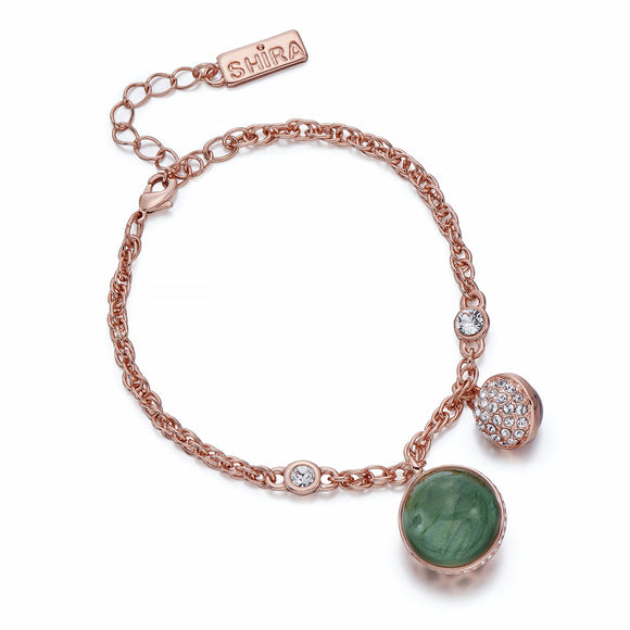 Rose Gold Bracelet with Charms | ${Vendor}
