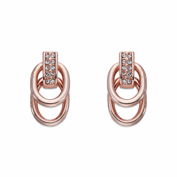 Rose Gold Drop Earrings | ${Vendor}