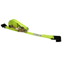 "Load image into Gallery viewer, 2"" x 18' Rollup Ratchet Strap with Flat Hook"