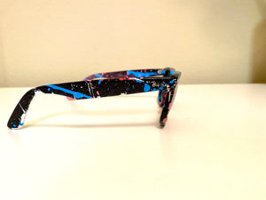 Paint Splatter Sunglasses