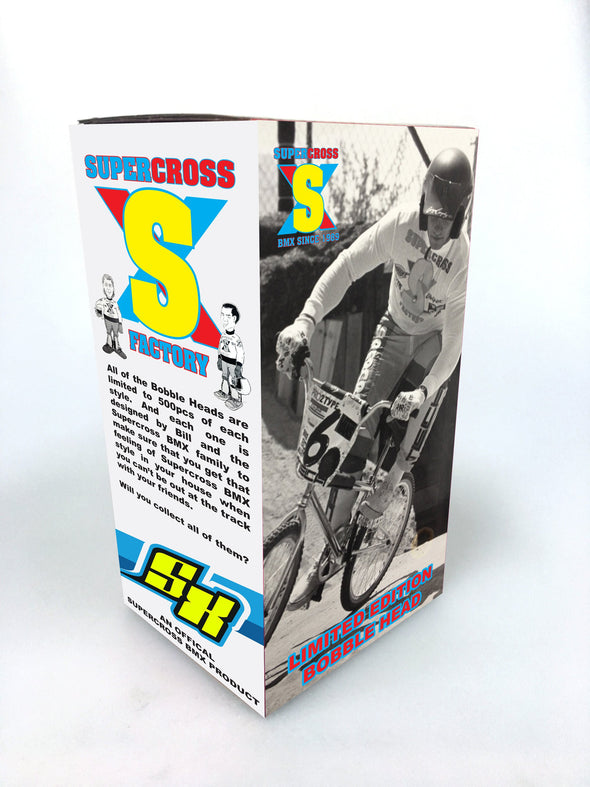 Supercross | Team Issue BMX Bobble Head Retro