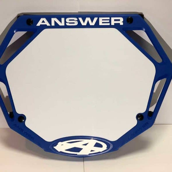 Answer | 3D Pro BMX Number Plate