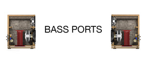 What is bass porting & how does it help?