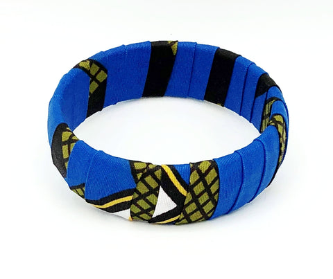 Handcrafted African Print Bracelet