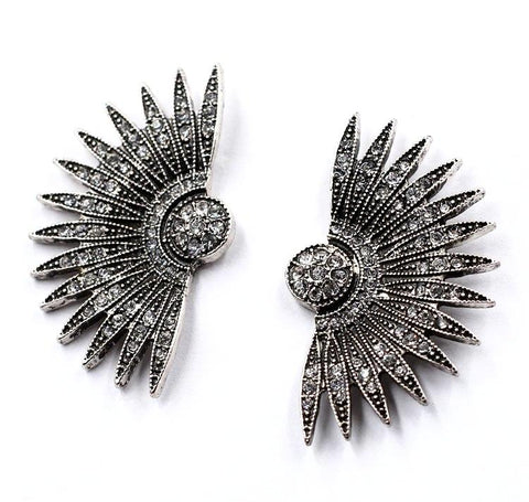 Rhinestone Costume Fashion Earrings