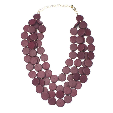 Bead Fashion Statement Necklace