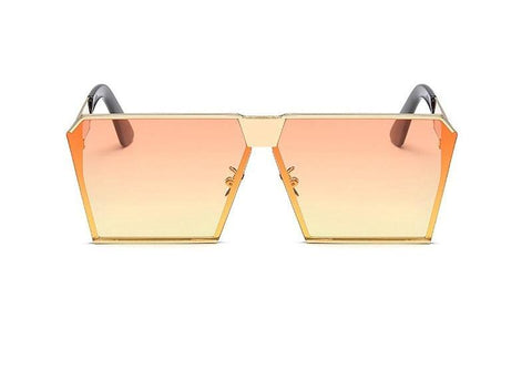 Clear Mirror Sunglasses