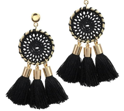 Tassell Fringe Earrings