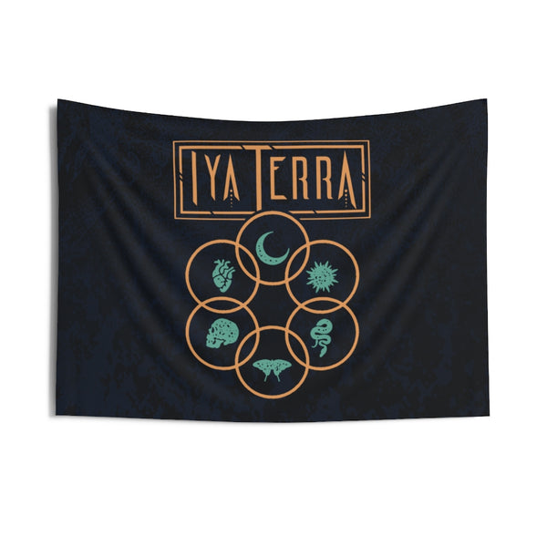 Iya Terra - Balance and Duality - Wall Tapestry