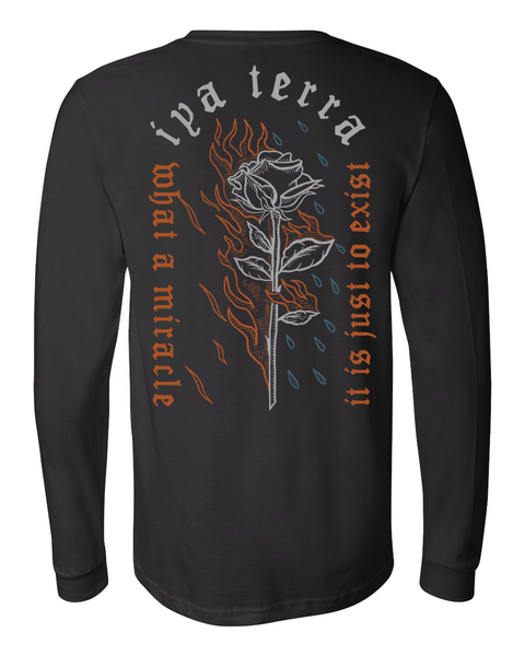 Mens Fire and Water Long Sleeve