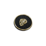 Balance and Duality Skull Pin