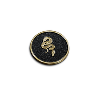 Balance and Duality Snake Pin