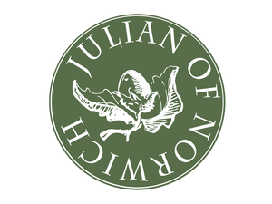 Julian of Norwich Green Hazelnut Logo