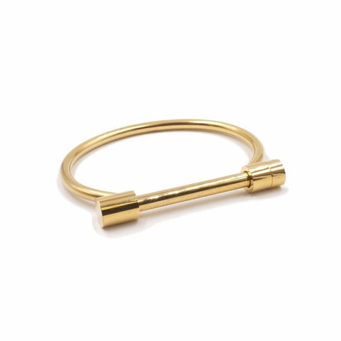 Kinsley Armelle/Bar Collection/Gold Bracelet