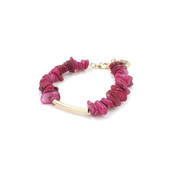 Kinsley Armelle/RASPBERRY WINE BRACELET