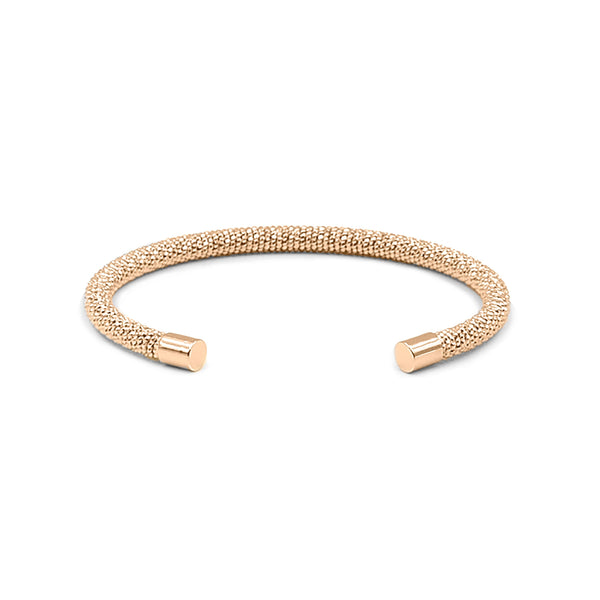 Kinsley Armelle/GODDESS COLLECTION/ROSE GOLD GESA CUFF BRACELET