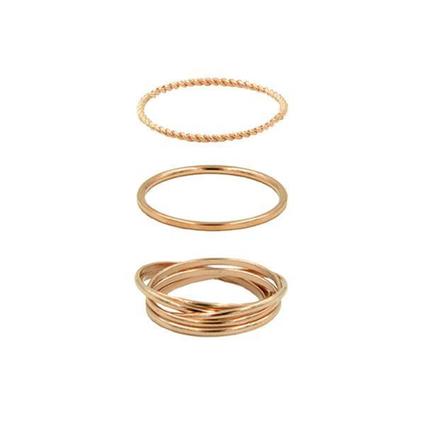 Kinsley Armelle/ Goddess Collection/Rose Gold