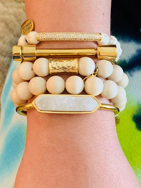 Kinsley Armelle/Glitz Collection/Khaki Bracelet