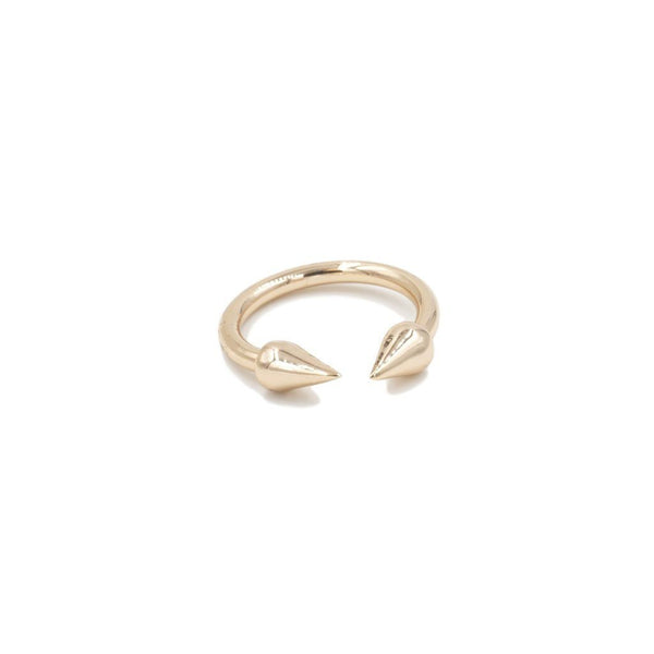 Kinsley Armelle/ Spike Collection/Gold Ring