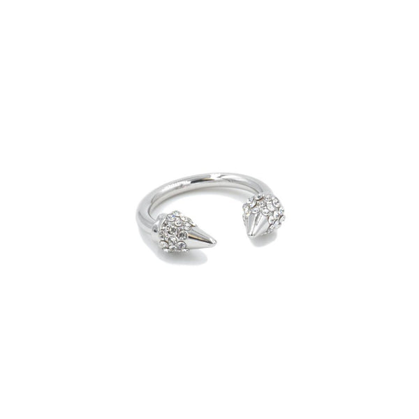 Kinsley Armelle/Spike Collection/Silver Bling Ring