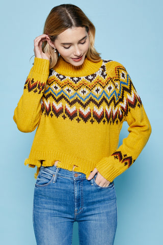 Knit Pullover Sweater
