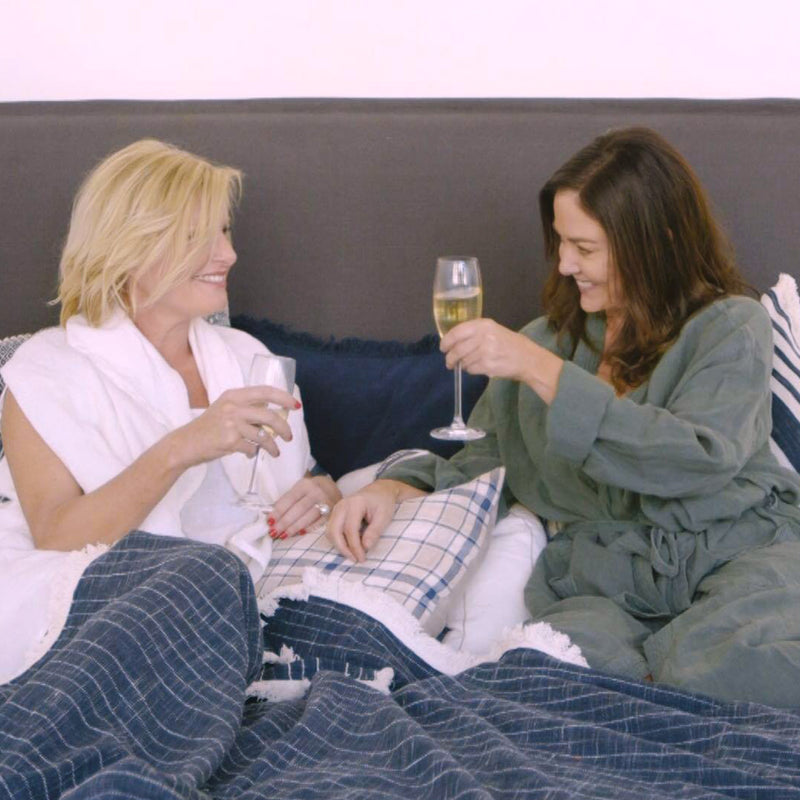 IN BED WITH EADIE - OUR FOUNDER AND DIRECTOR TRUDIE