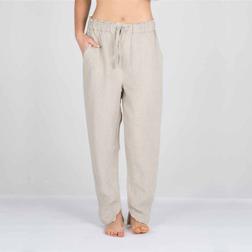 The Linen Pants - Natural - Eadie Lifestyle