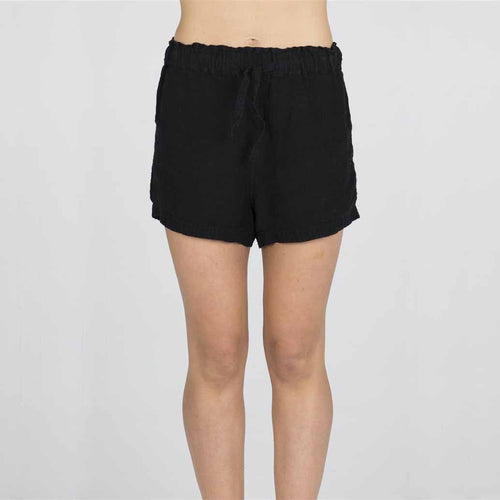 The Linen Shorts - Black - Eadie Lifestyle