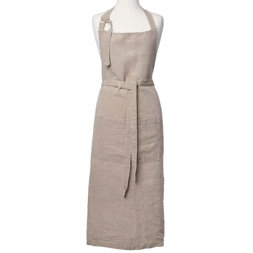 luca apron european linen with pockets by eadie lifestyle