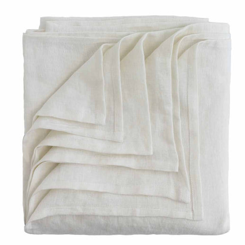 Luca Bed Covers - White - Eadie Lifestyle